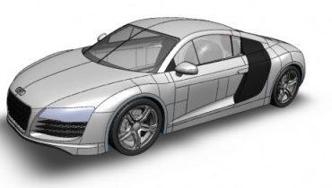 Modellér din egen Audi R8 i SolidWorks.