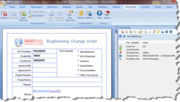 Enterprise PDM og Office – How to never leave the Office