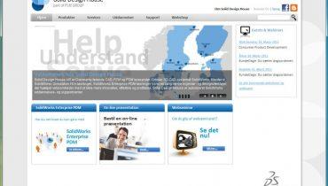 Solid Design House og PLM Group lancerer ny hjemmeside.