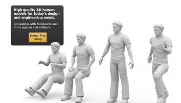 """""""Menneskelige"""" 3D CAD Modeller"""