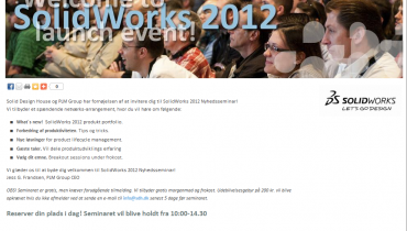 NyhedsSeminar: What's New 2012