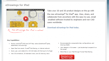 eDrawings til iPad