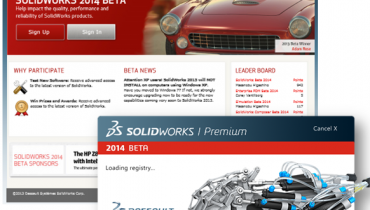 SolidWorks 2014 beta tester søges