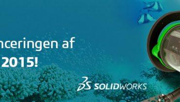 Kom med til lanceringen af SOLIDWORKS 2015!