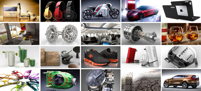 SOLIDWORKS Visualize examples
